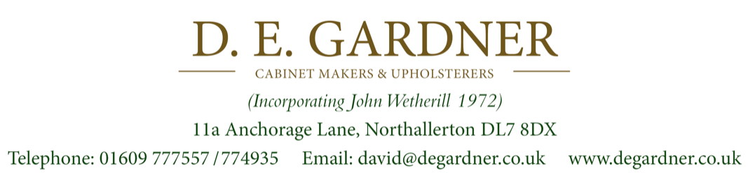 Gardner Cabinet Makers (John Wetherill)