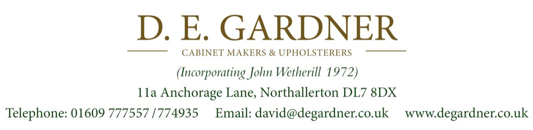 Gardner Cabinet Makers (John Wetherill)